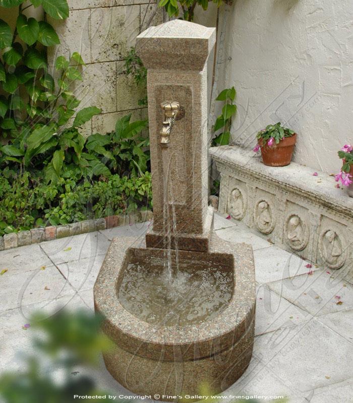 Elegant Faucet Fountain