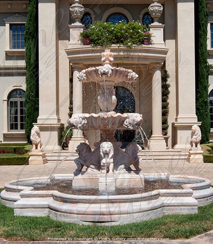 Wild Beasts Rosetta Fountain