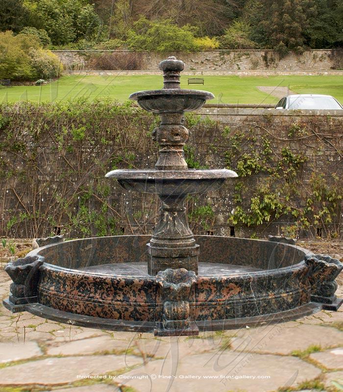 Marble Fountains  - Pure White Onyx Lanai Fountain - MF-1594