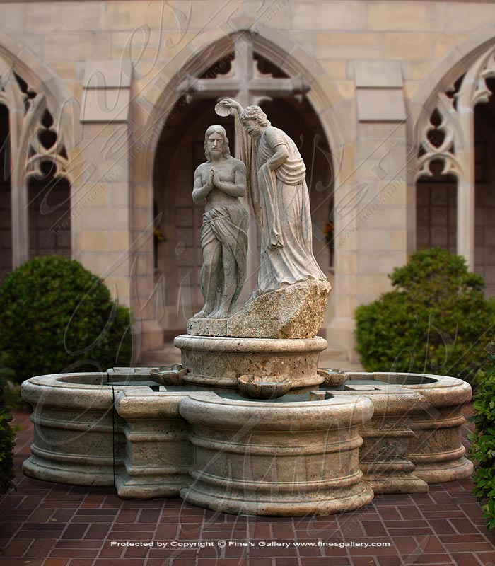 Baptism of Jesus Fountain/Font