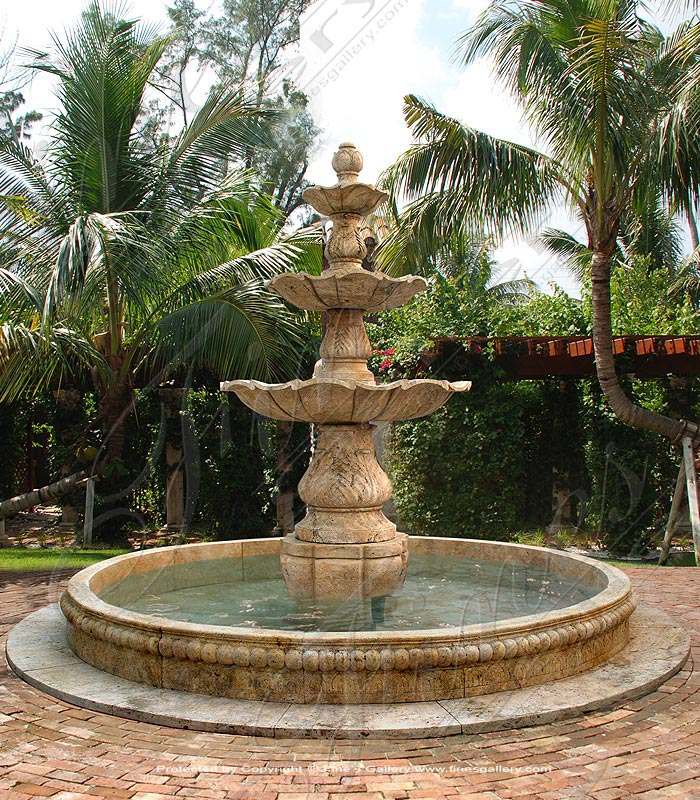 Acanthus Marble Fountain