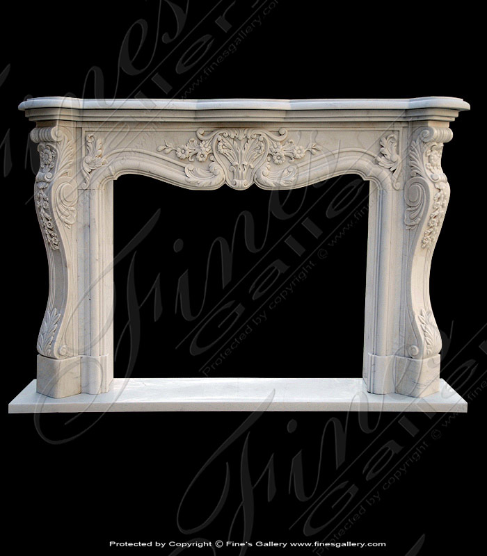 Marble Mantels | Fireplace Mantles | Marble Fireplaces | Hearths ...