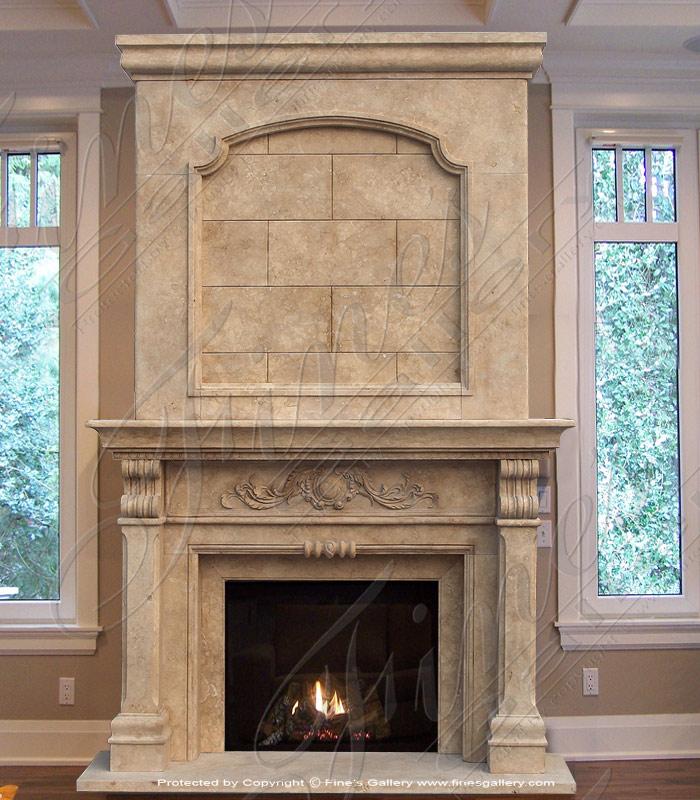 marble mantels fireplace mantles marble fireplaces hearths mantels custom designed. Black Bedroom Furniture Sets. Home Design Ideas