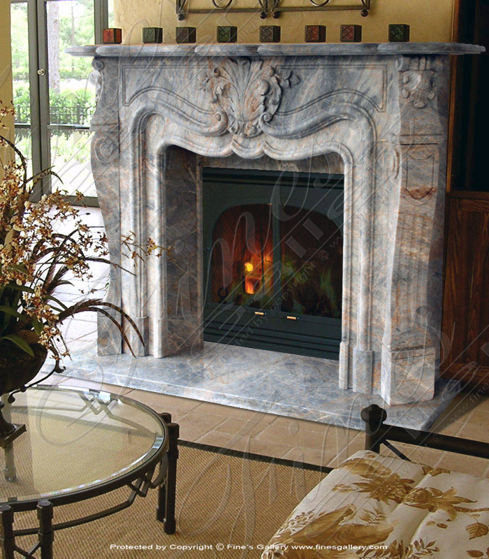 French Marble Fireplace EBay