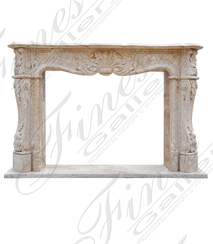 Elegant French-Style Fireplace