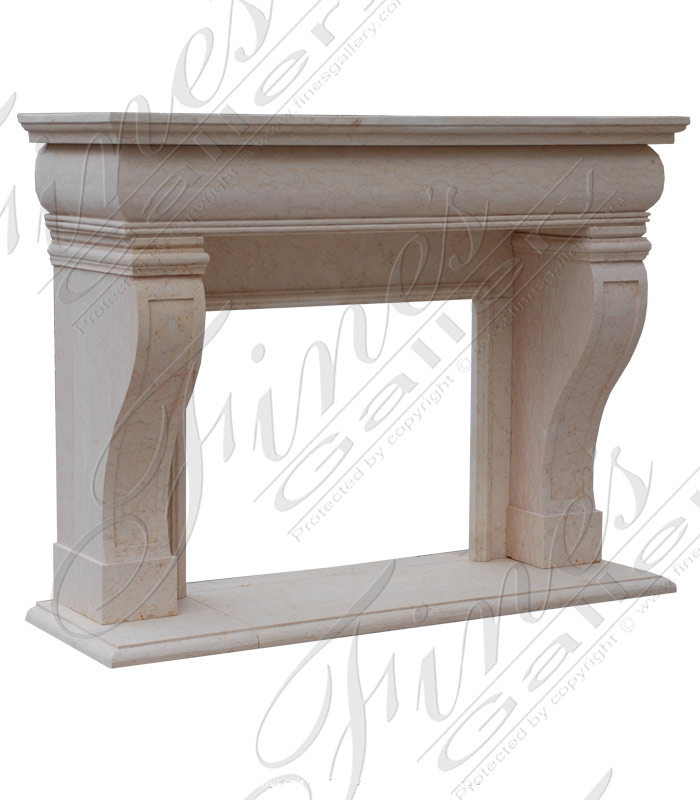 Transitional Style Mantel