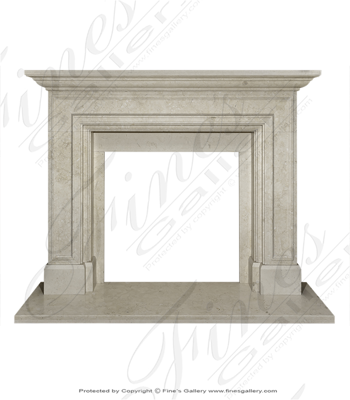 Light Cream Contemporary Surround