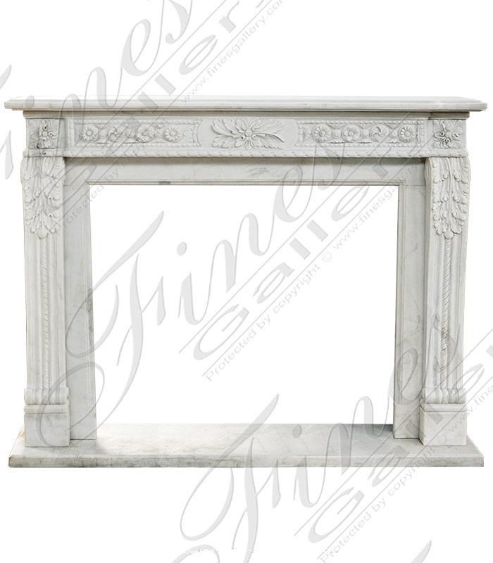Marble Regency Marble Fireplac