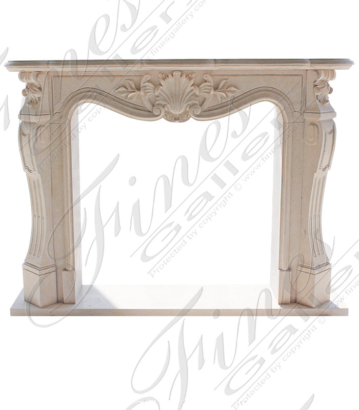 Traditional French Fireplace Mantel