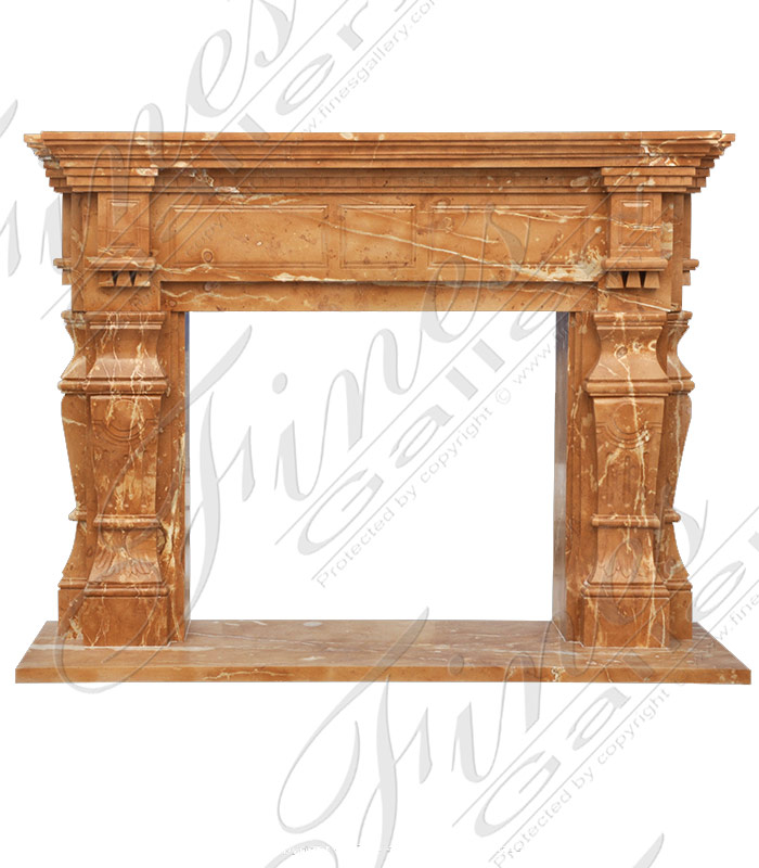 Marble Fireplaces  - Marble Fireplace - MFP-1774