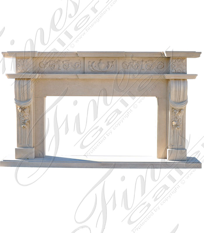 Marble Fireplaces  - Grand Tuscan Surround - MFP-1790
