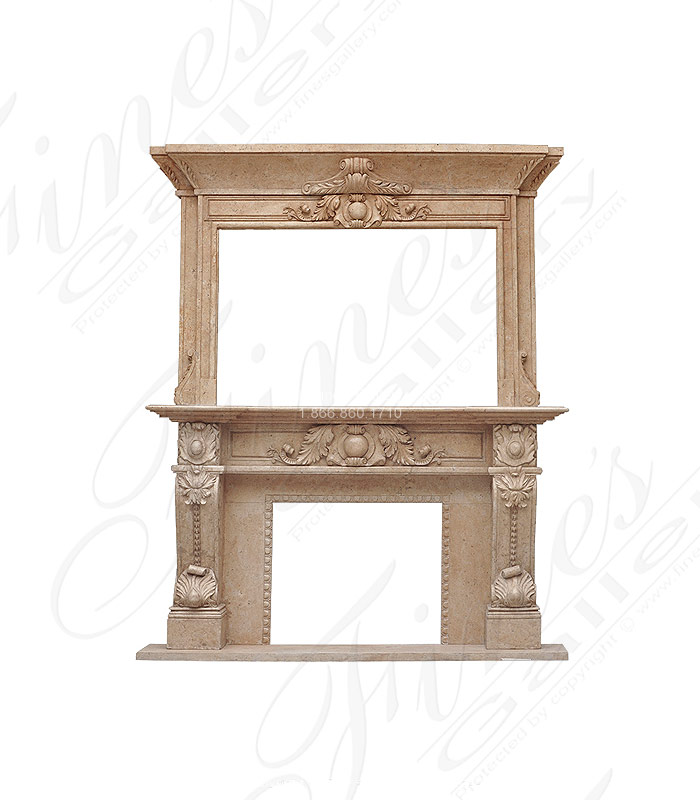 Marble Fireplaces  - Marble Fireplace - MFP-1799