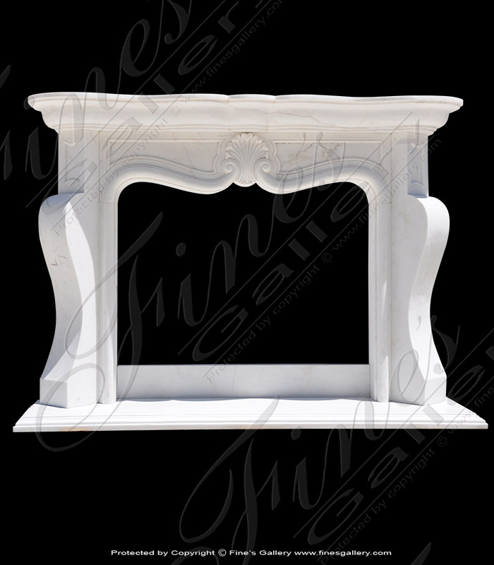 Transitional French Marble Surround