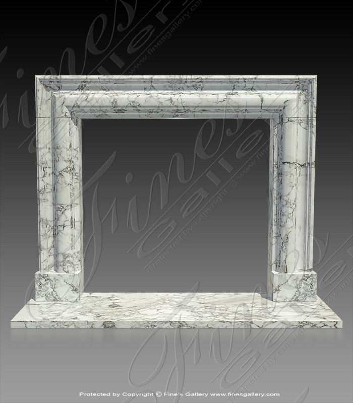 Italian Arabascato Marble Surround
