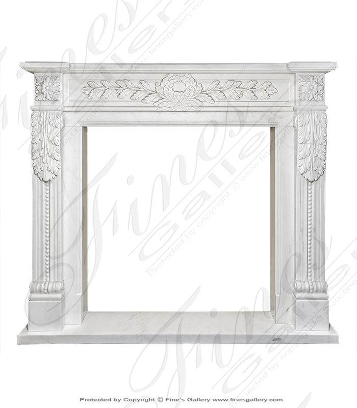 Classic French Regency Fireplace Mantel