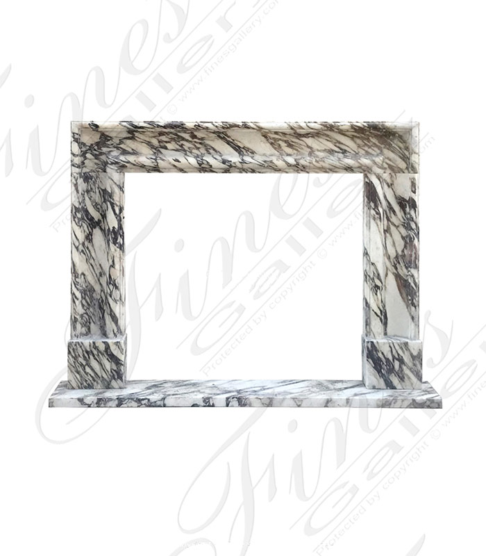 Breccia Viola Marble Bolection Surround X