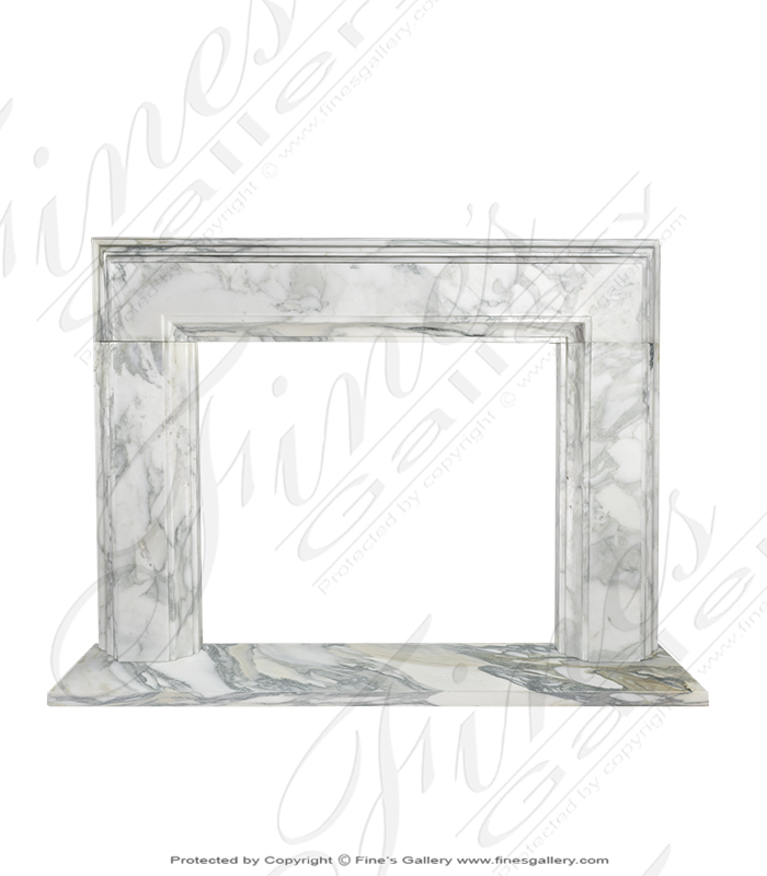 Luxurious Modern Marble Mantel