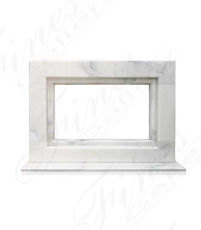 2020 Arabascato Marble Surround