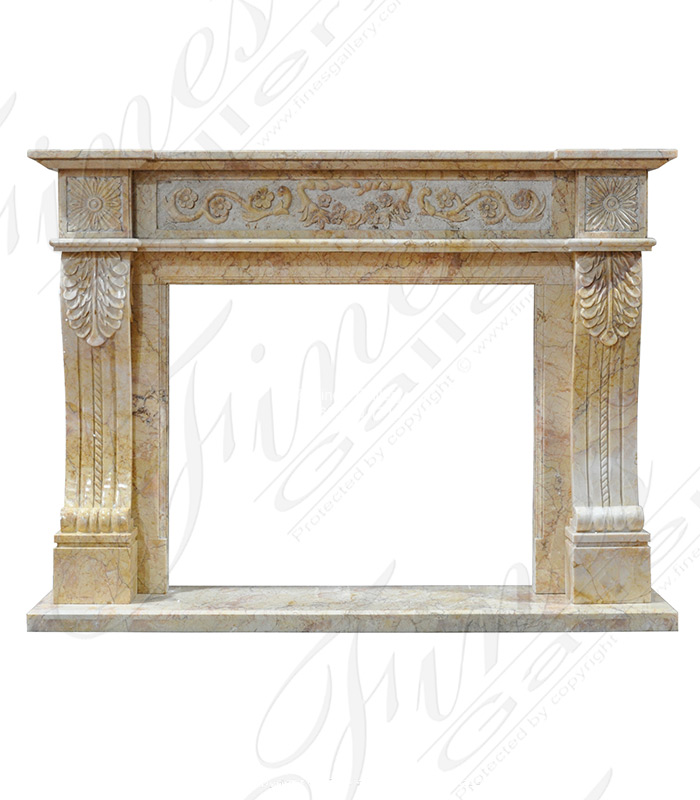 Regal Gold Marble Surround