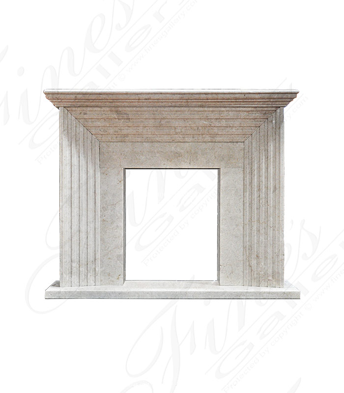 Contemporary Marble Surround