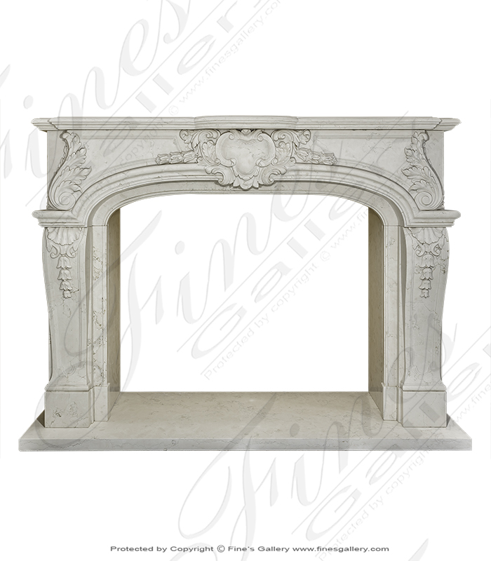 Perlino Marble Surround