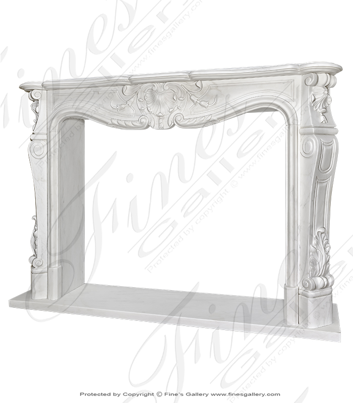 French Marble Surround Louis XII