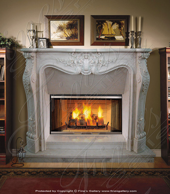 Featured Patent D643 522 Fireplace Mantel