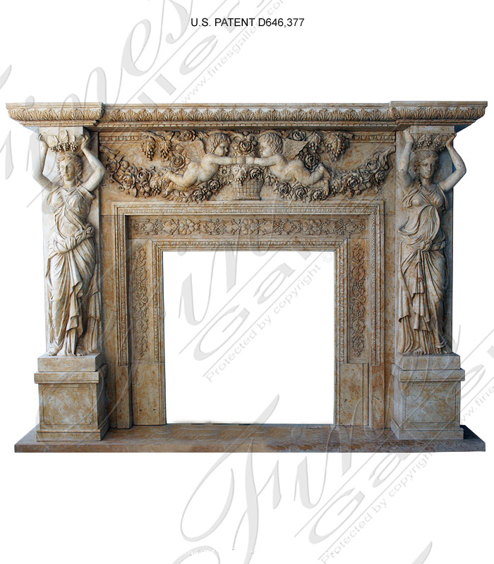 Buy Beautiful Handcarved Marble Garden Fountains