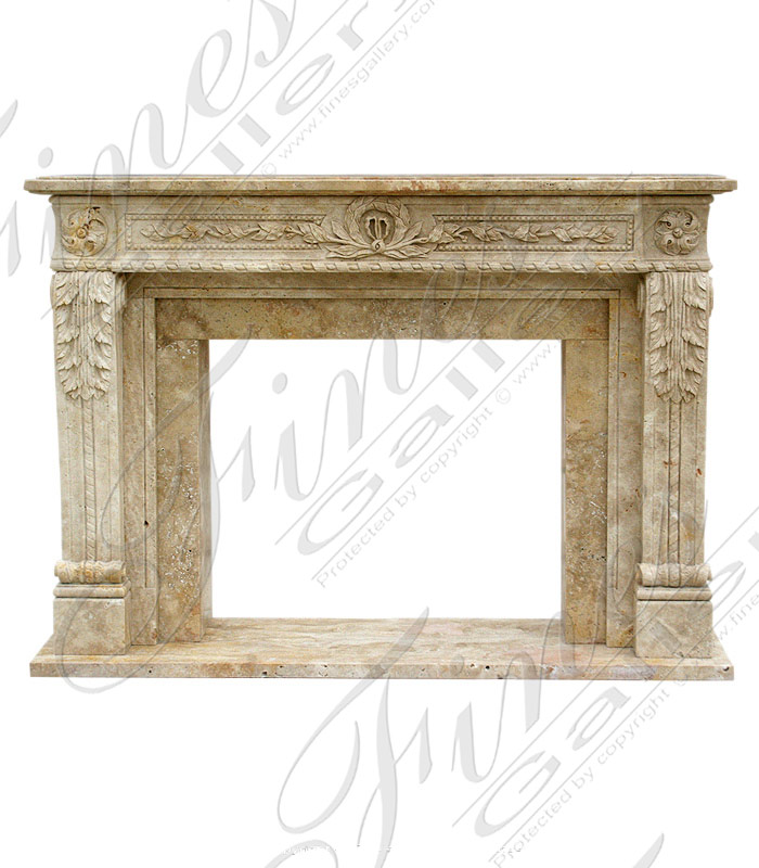 Natural Harmony Marble Fireplace