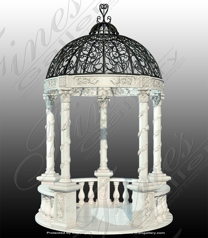 Victorian Marble Gazeebo