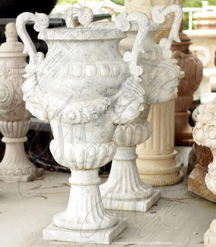 Italian Gothic Marble Planter