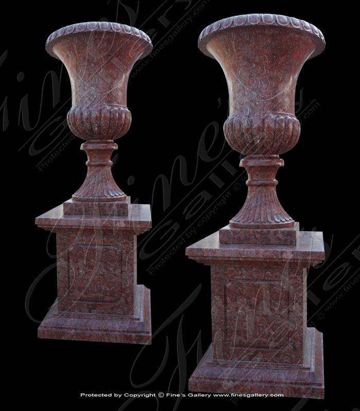 Elegant Urn Marble Planter