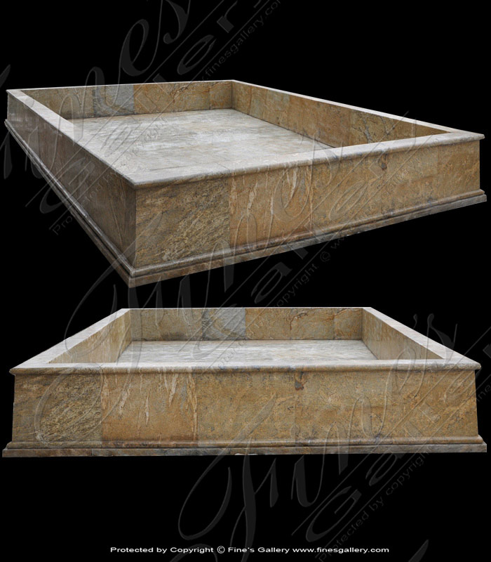 Antique Gold Granite Pool