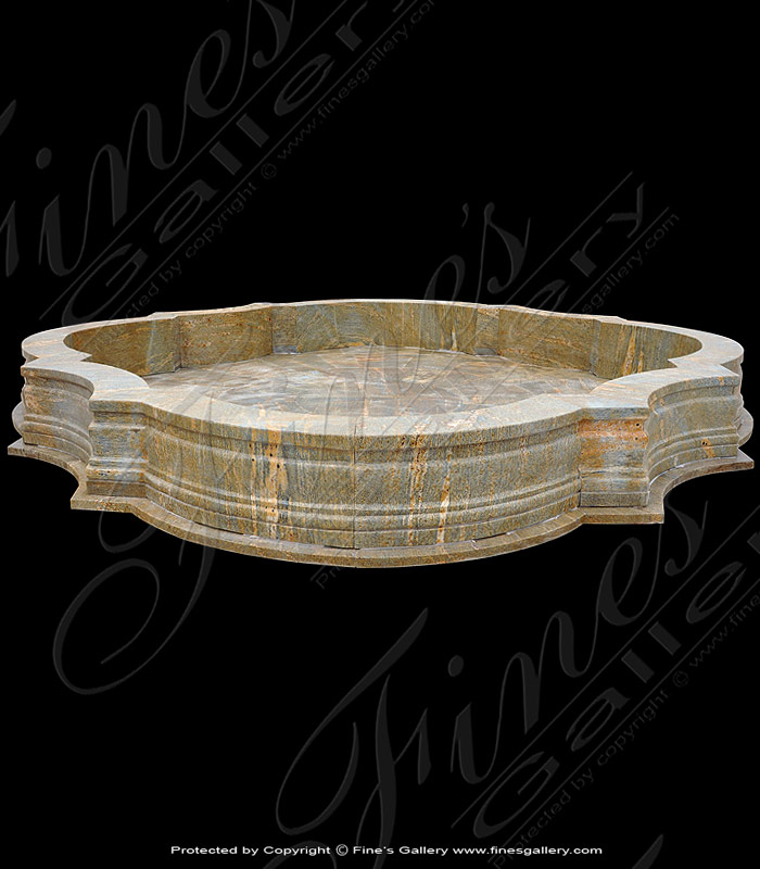 Granite Luxuries Courtyard Pool Basin