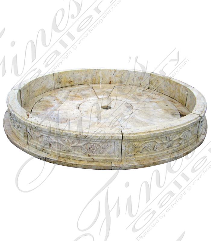 Light Beige Marble Pool