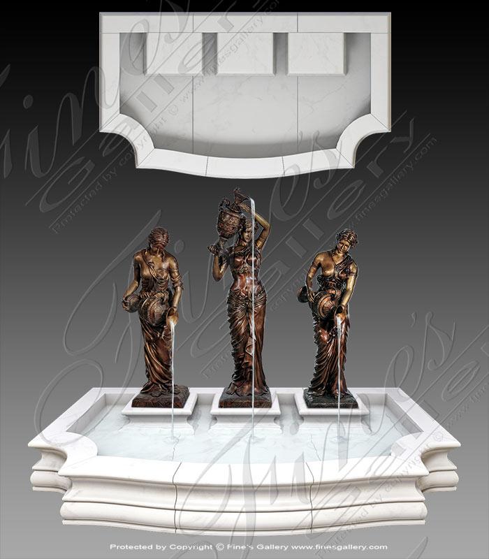 Three Greek Ladies Marble Pool