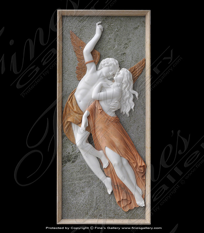 Search Result For Marble Statues  - White Mythical Plate - MS-504