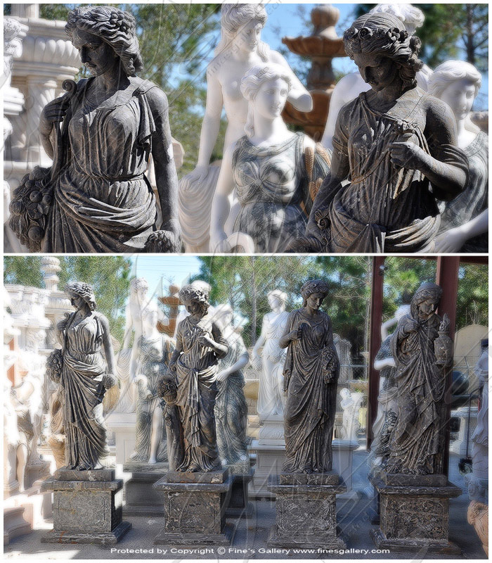 Search Result For Marble Statues  - Four Seasons Marble Statues - MS-670