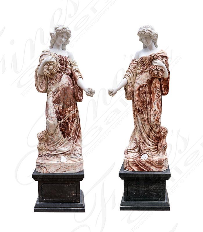 Roman Marble Female Statues