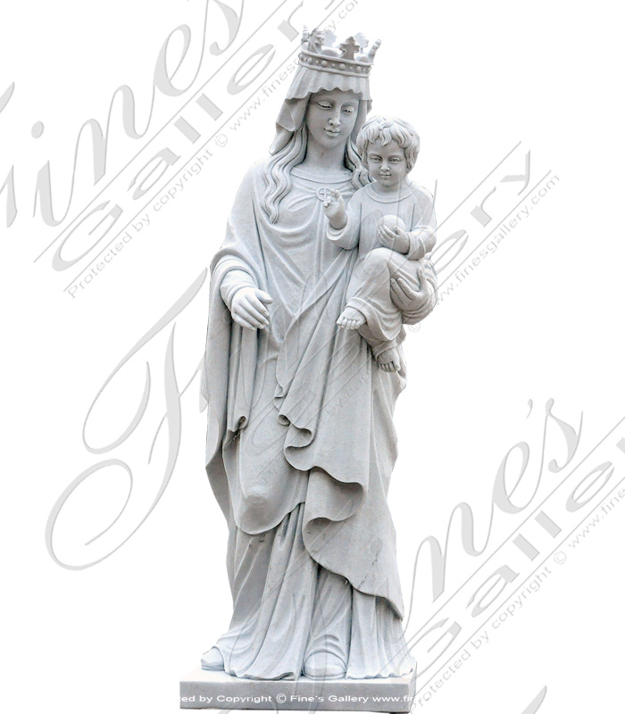 Our Lady of Victory Marble Sta