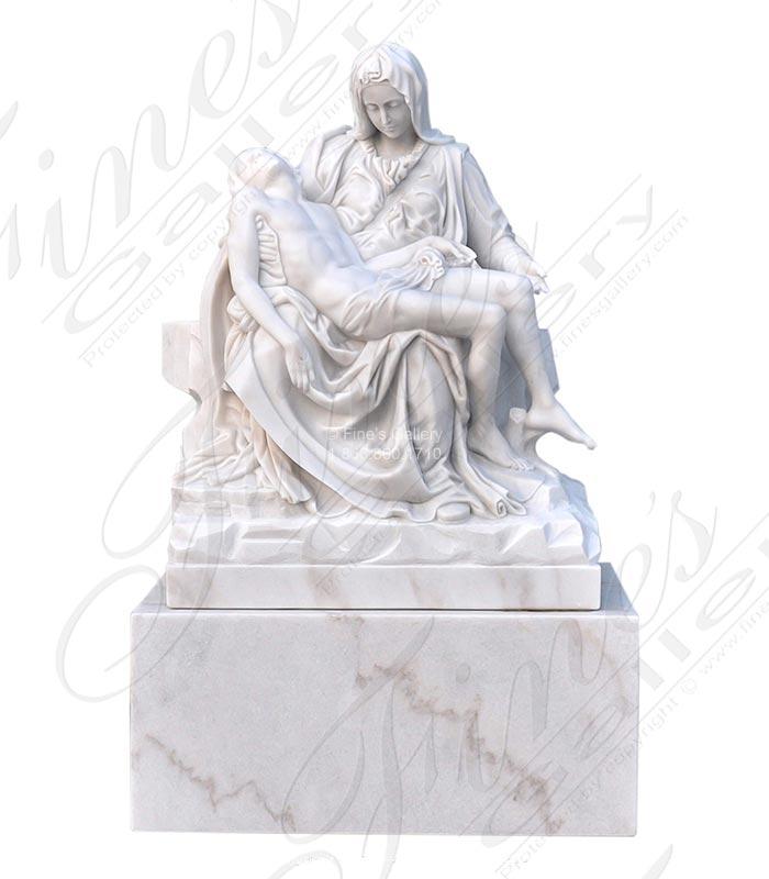 Marble Pieta Statue