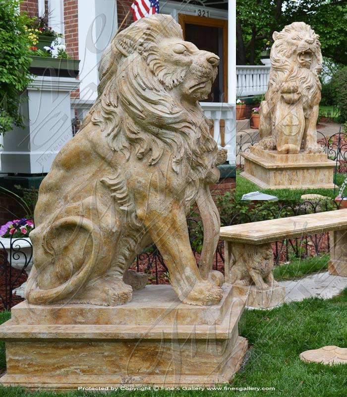 Bronze Statues  - Pathera Leo Krugeri - BS-173