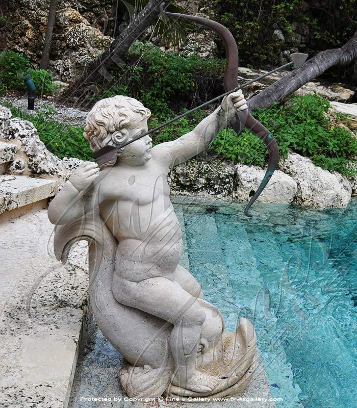 Marble Cupid Statue