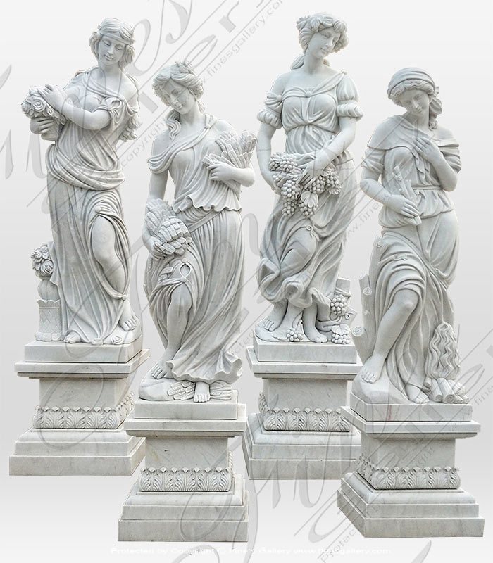 Marble Four Seasons Set