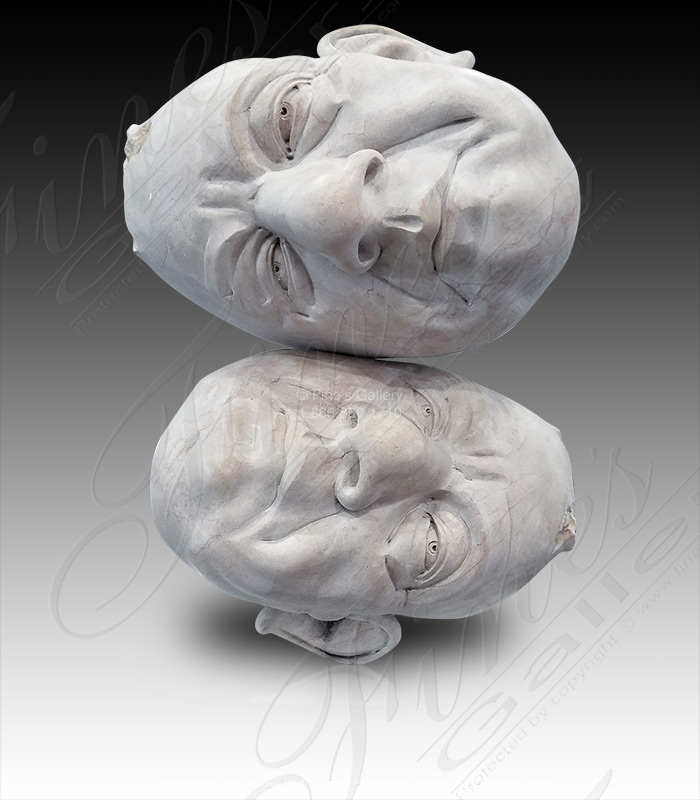 Rolling Heads Modern Marble St