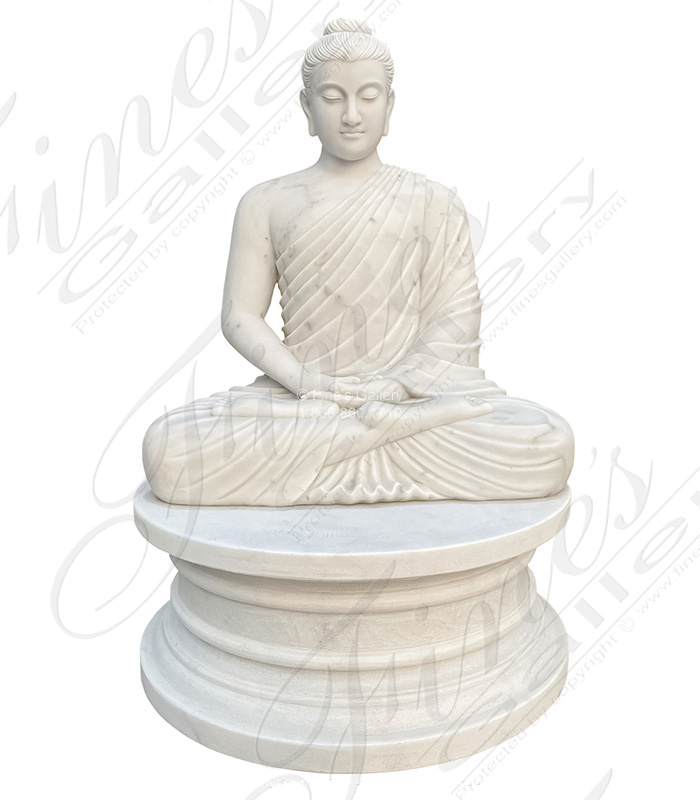 Solid Marble Buddha Statue