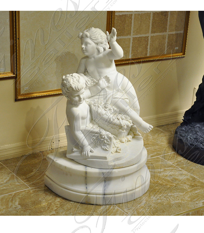 Marble Statues  - Medieval Princess - MS-345