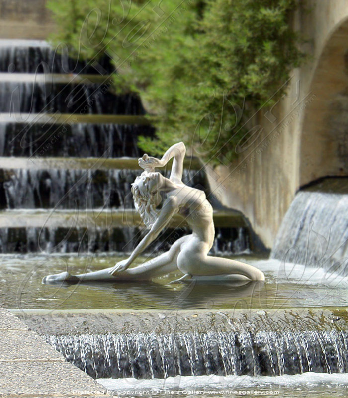 Marble Statues  - Nude Female Figure - MS-368
