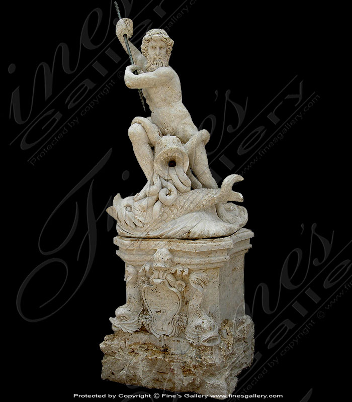 Marble Statues  - Roman Warrior Statue Pair - MS-933