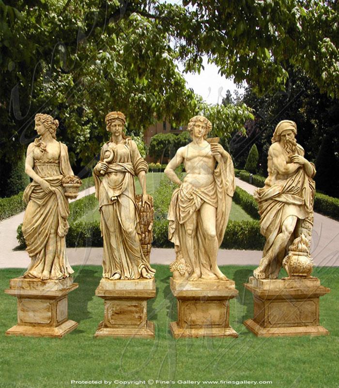 Antique Greco Roman Statues